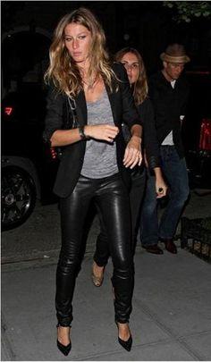 volta da moda da calça cirre - Pesquisa Google Legging De Couro 285f52765fb6
