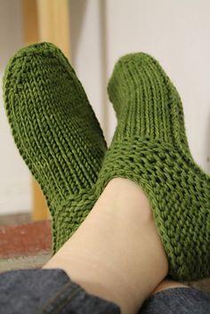 Ravelry: otismurph's Cushy X-mas Slippers