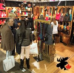 We had a busy booth last week at the Toronto CGTA Wholesale show! Daily Fashion, Wardrobe Rack, Toronto, Canada, Leather, Handmade, Home Decor, Hand Made