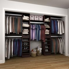D Reach In Closet Kit In Mocha (Brown)
