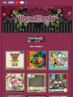 Ad:New Products,Sales,Featured Designer & Free Gift from Heartbeatz Creationz Store!https://madmimi.com/s/983fe4