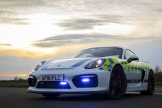 Porsche Cayman GT4 For UK Police We definitely like US Police's cruisers on their highways, but let's agree some of the police cars overseas are much more impressive. And the latest addition is a Porsche Cayman GT4. Italy has got a Ferrari 458 Spider and Lamborghini Huracan on its roads, Australia – a Mercedes-AMG E43 and...