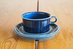 ARABIA : Kosmos Blue Tea C&S
