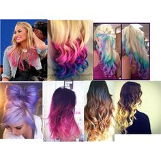 Crazy Hair Colors Lovely Locks Pinterest My I Love And Color