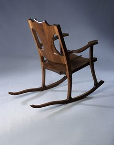 Torso Rocking Chair.  CustomMade by Michael Doerr Door County, Wisconsin artist