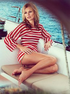 {weekend fashion inspiration | editorial : kate moss by patrick demarchelier} by {this is glamorous}, via Flickr