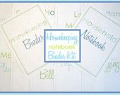 Printables for home organization - etsy shop