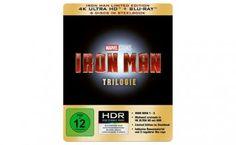 [Vorbestellen]  Iron Man  Trilogie  Steelbook (4K Ultra HD) [Blu-ray] [Limited Edition]