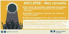 cécité (oeil, soleil, éclipse, France, 2017)
