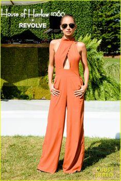Nicole Richie Launches New Collection & Shares Fashion Inspo: Photo #3717922. Nicole Richie rocks an orange…