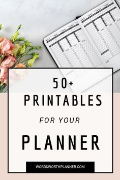 A collection of Printables for your Planner.  Download here for for free.