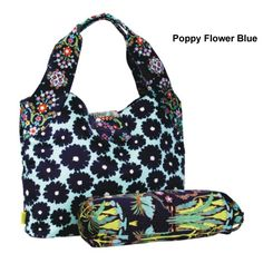 Amy Butler Tulip Diaper Bag by Kalencom at BabyEarth.com, $160.00