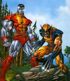 What do you know. Colossus and the most overrated character of all time in the same pic