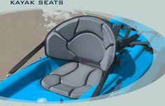 The best way to improve your paddling experience is by fitting the right kayak seat. The properly designed seat will make your body fit the boat.Comfykayak.com, the all-inclusive web store for kayak accessories has a wide range of kayak seating to choose from.  for more info:- http://www.comfykayak.com/