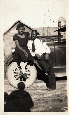 Antique African American Photo Couple Man Woman Family Group Old Black Americana