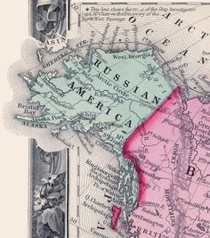 Post with 33 votes and 1849 views. Tagged with maps, alaska, century, old map, old maps; Shared by AndrewGloe. Russian America in 1860 Russian American, American History, United Nations Peacekeeping, Bristol Bay, Map Vector, Old Maps, Vintage Maps, Antique Maps, Alaska