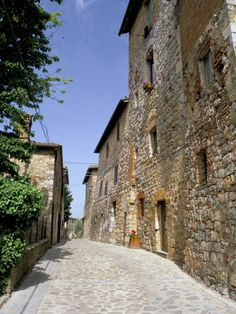 Oldest Building in the Best Preserved Fortified Medieval Village in Tuscany