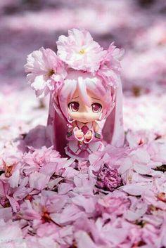 Miku flor de sakura