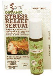 #Blissoma #Stress #Relief Serum Roll on Organic and Natural Aromatherapy Oil for Migraines, Tension, Pain, .33 Oz, 10 Ml $8.99 5 star rated for relief of #headaches and #mirgaines