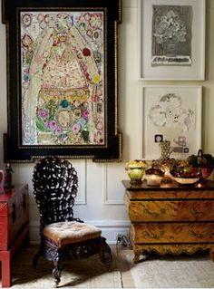 Gloria Vanderbilt S Apartment The Art Of Red Pinterest