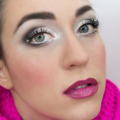 Winter Makeup Tutorial: Snowy Eyes