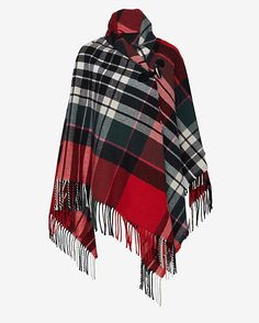 Vivienne Westwood Plaid Fringe Cape - Excited for FALL! Winter Coats Women, Coats For Women, Winter Tops, Fall Winter, Tartan Plaid, Plaid Scarf, Tartan Fashion, Scottish Plaid, Cape Coat