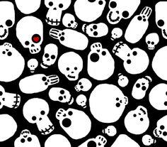 """Motiv: """"skullclutter"""" (#56330) © DeWeird"""