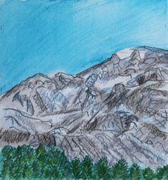 Joseph M Dunn, Mountains between on ArtStack #joseph-m-dunn #art