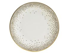 KELLY WEARSTLER | TROUSDALE SAUCER. Fine china with 22k gold.