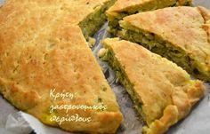 Pizza Tarts, Greek Pita, Zucchini Pie, Greek Cooking, Most Delicious Recipe, Tasty, Yummy Food, Spanakopita, Greek Recipes