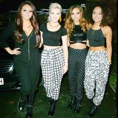 The Little Mix girls have always had an experimental fashion sense and Jesy tried out the latest leather trend for their performance on This Morning. Little Mix Jesy, Little Mix Girls, I Love You Girl, Cool Girl, Little Mix Updates, Little Mix Instagram, Celebrity Biographies, Mixed Girls, Jesy Nelson
