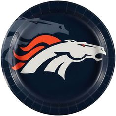 Denver Broncos 8-Pack Dinner Plates - $3.99
