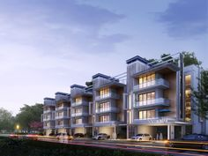 terraced apartments - Google Search