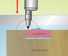 How to Drill Small Holes in Glass for Jewelry or Wind Chimes