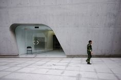 Hadid, Zaha _ Guangzhou Opera House _ Door by SteMurray, via Flickr