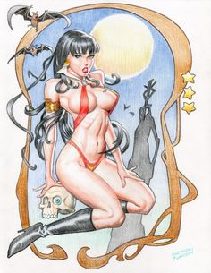 Fastner & Larson-Vampirella (color)