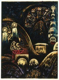 Louis Lozowick - Coney Island (1935)