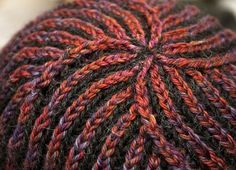 Brioche Stitch in the Round (or English Ribbing stitch)