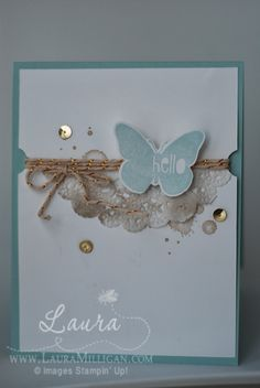 "Laura Milligan, Stampin' Up! Demonstrator - I'd Rather ""Bee"" Stampin!: Nature's Hello"