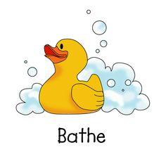 Take bath