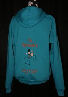 Personalized Zip Up Jacket Bride & Groom by TheFlowerFairyShop, $75.00