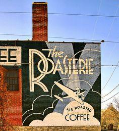 Westside Coffee Company, Kansas City, Missouri.