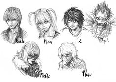 """My obssesion on """"Death Note"""" manga is getting apogee. Once I was worshipping L, but now I changed my mind into Mello Cute one ^^"""