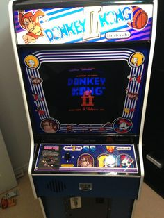 Arcade Machine, Donkey Kong, Finals, Restoration, Final Exams