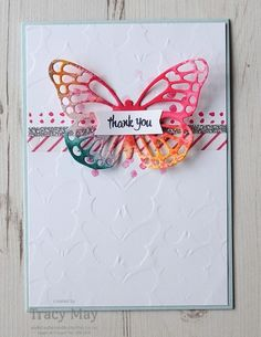 Come and see what I've made for this week's sketch challenge for Create with Connie & Mary using Butterfly Thinlits by Stampin' Up! Washi Tape Cards, Karten Diy, Butterfly Cards, Butterfly Wings, Stamping Up Cards, Kids Cards, Craft Cards, Card Maker, Cute Cards