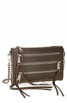 e43fbacd59 Rebecca Minkoff  Mini 5 Zip  Convertible Crossbody Bag available at   Nordstrom Rebecca Minkoff