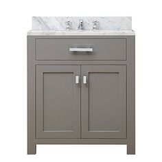 "Water Creation Madison 30G 30"" Cashmere Grey Single Sink ... https://www.amazon.com/dp/B00Z0EKU4M/ref=cm_sw_r_pi_dp_TT.MxbNG6KMDA"