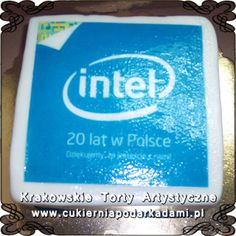 036. Fototort dla Intel. Intel photocake.