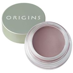 Origins Bamboost Ginzing8482 Brightening Cream Eyeshadow ($20) ❤ liked on Polyvore featuring beauty products, makeup, eye makeup, eyeshadow, bamboost and eye brightening makeup