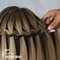 Amazing Tutorial😍💕 Amazing Tutorial😍💕 By: Another BraidLange blonde Haare Frisuren Frisyrer Frisuren Easy Hairstyle Video, Bun Hairstyles For Long Hair, Girl Hairstyles, Braided Hairstyles, Wedding Hairstyles, Hairstyles Videos, Female Hairstyles, Straight Hairstyles, Hairstyle Men